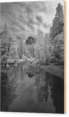 Half Dome Wood Print by LiorDrZ© Photography
