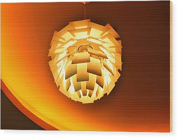 Hanging Wood Print by Barry R Jones Jr