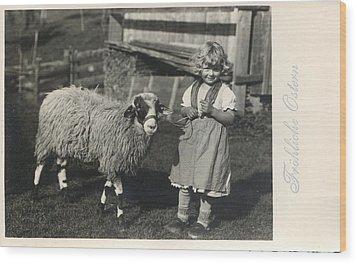 Happy Easter 1935 Wood Print