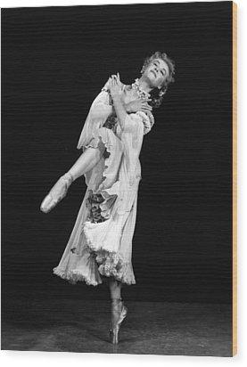 Happy Go Lovely, Vera-ellen,1951 Wood Print by Everett