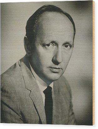 Harold Robbins 1916-1997 Popular Wood Print by Everett