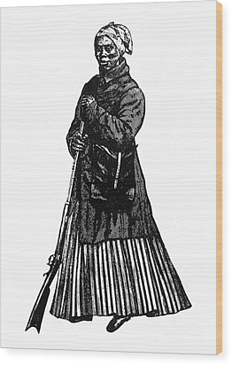 Harriet Tubman (c1823-1913) Wood Print by Granger