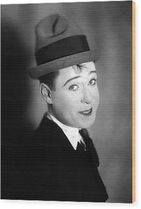 Harry Langdon Wood Print by Everett