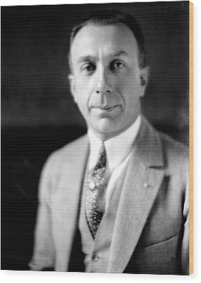 Harry Warner, 1881-1958, Co-founder Wood Print by Everett
