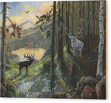 Harts Gambit Wood Print by Jeff Brimley