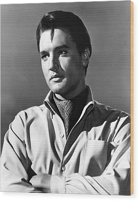Harum Scarum, Elvis Presley, 1965 Wood Print by Everett