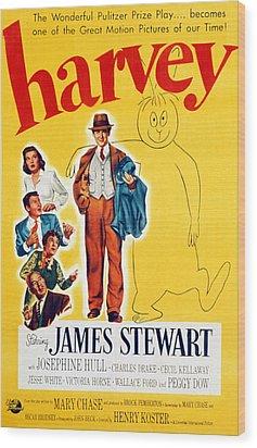 Harvey, Victoria Horne, Jesse White Wood Print by Everett