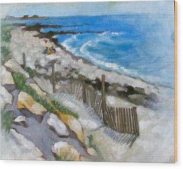 Harwich Port Beach Wood Print