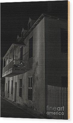 Haunted Alleyway Wood Print by Vicki DeVico