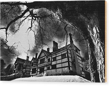 Haunted Hall Wood Print by Matt Nuttall