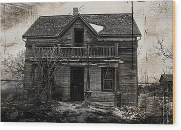 Haunting East Wood Print by Jerry Cordeiro