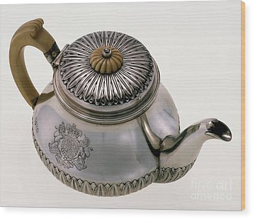 Hawaii - Royal Teapot Wood Print by Granger