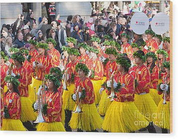 Hawaii All-state Marching Band IIi Wood Print by Clarence Holmes