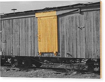 Hawaiian Railcar  Wood Print by Elizabeth  Doran