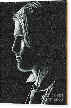 Haymitch Abernathy Wood Print