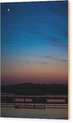 Wood Print featuring the photograph Hazynezz 2 by Matti Ollikainen