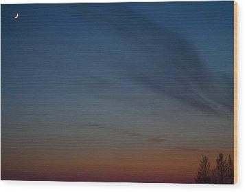 Wood Print featuring the photograph Hazynezz 4 by Matti Ollikainen