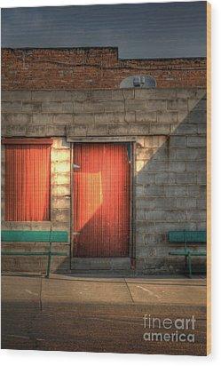 Hdtv Wood Print by Fred Lassmann