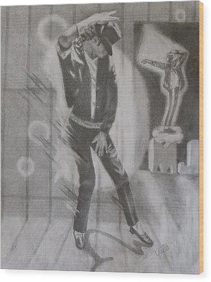 He Still Dances Wood Print by Joanna Gates