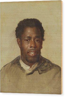Head Of A Man Wood Print by John Singleton Copley