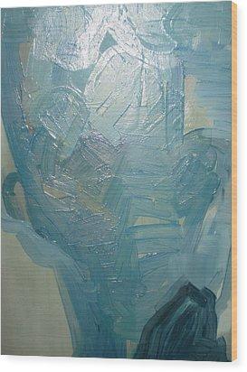 Head2 Wood Print by Dusan  Marelj