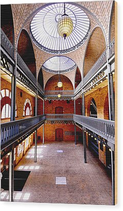 Hearst Mining Building Wood Print by Leori Gill