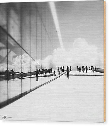 Heavenly Walk In Oslo 3 Wood Print by Marianne Hope