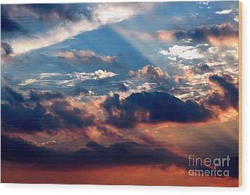 Heavens Above 2 Wood Print