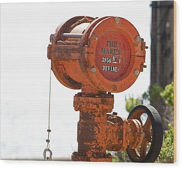 Heavy Duty Mailbox Wood Print by Gregory Scott