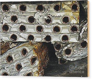Heavy Metal Wood Print by Joe Jake Pratt