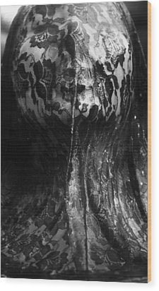 Held Under Wood Print by Emily Austin