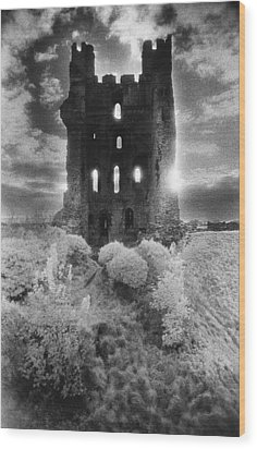 Helmsley Castle Wood Print by Simon Marsden