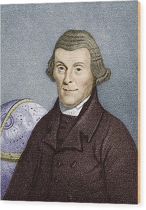 Henry Andrews, English Astronomer Wood Print by Sheila Terry