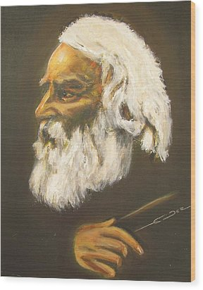 Henry Wadsworth Longfellow Wood Print by Eric Dee