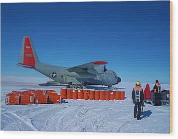 Hercules Lc130h 03 Wood Print by David Barringhaus