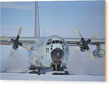 Hercules Lc130h 04 Wood Print by David Barringhaus