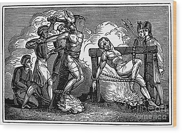 Heresy: Torture, C1550 Wood Print by Granger