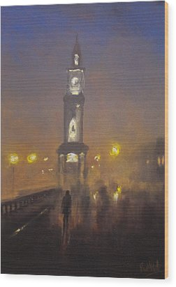 Herne Bay Halloween 1 Wood Print by Paul Mitchell