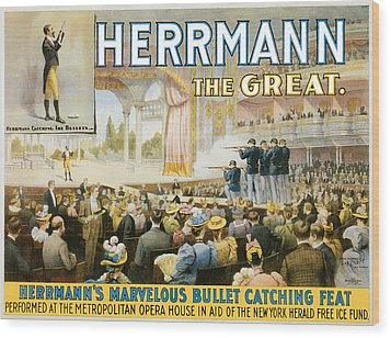 Herrmann The Great Wood Print by Unknown