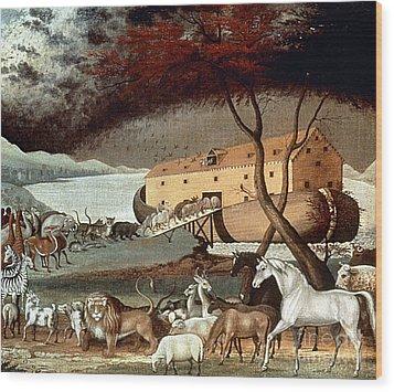 Hicks: Noahs Ark, 1846 Wood Print by Granger