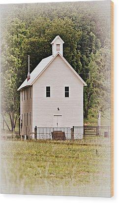 Hidden Church Wood Print by Marty Koch