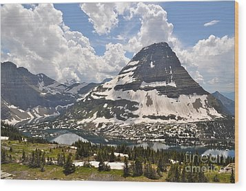 Wood Print featuring the photograph Hidden Lake  by Johanne Peale
