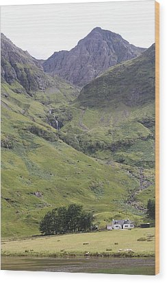 Wood Print featuring the photograph Highland Pass by David Grant
