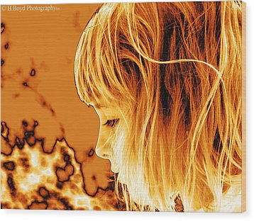 Highlights Of Innocence Wood Print by Heather  Boyd
