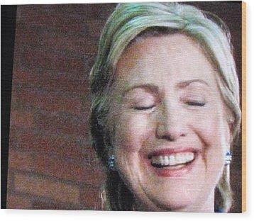 Hillary's Run Wood Print by Shawn Hughes
