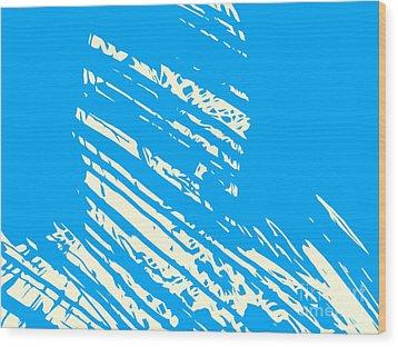 Him  Wood Print by Pixel Chimp