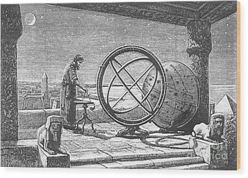Hipparchus, Greek Astronomer Wood Print by Science Source