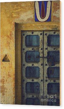 History Wood Print by Vishakha Bhagat