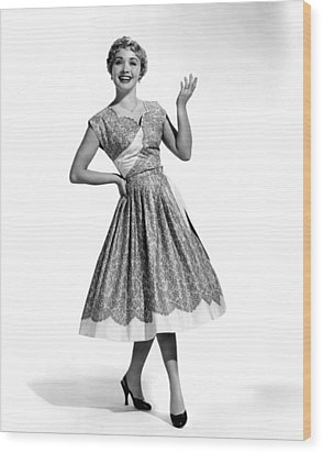 Hit The Deck, Jane Powell, 1954 Wood Print by Everett