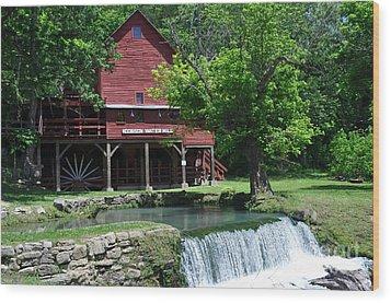Hofgens Mill Wood Print by Marty Koch